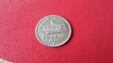 a)  20centimes argent Napoléon lll 1867BB