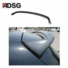 For BMW 1 Series E81 E87 Black Carbon Fiber Rear Boot Spoiler Wing Lip AC Style