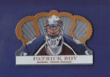 Patrick Roy 2001-02 Crown Royale Pacific Hockey #30