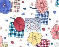 New Scrubs ~ Print Scrub Top ~ XS ~ Flowers Hearts