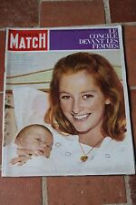 paris match n°761 paola & prince albert gerard philipe