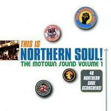 This Is Northern Soul The Motown Sound Volume 1 -various Artists 2x CD Album
