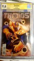 Thanos rising 1 Variant!! CGC 9.6 SS