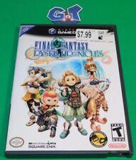 FINAL FANTASY CRYSTAL CHRONICLES Nintendo Game Cube CIB Disc, Case, Manual