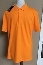NWT Nike Golf Vivid Orange Short Sleeve Polo Shirt Sz Small