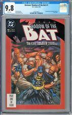 Batman: Shadow of the Bat #1 CGC 9.8 1st Victor Zsasz 1st J. Arkham DC 1992