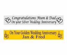 Unbranded Anniversary Party Banners, Buntings & Garlands