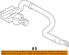 FORD OEM 14-18 Fiesta Battery-Negative Cable D2BZ14301A