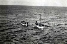 New 5x7 Photo: Survivors in Lifeboats after TITANIC Ship Sinking Disaster