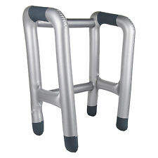 Granny Blow-Up Inflatable Zimmer Frame Fancy Dress Prop (WORLD BOOK DAY)