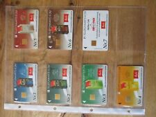 Melitta Coffee Phone Cards 1-7 Ganze Series +3 Others Coffee, Very Rarely