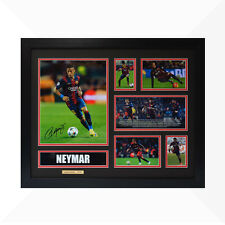 Neymar Signed & Framed Memorabilia - Black/Red - Limited Edition