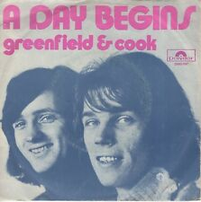 7inch GREENFIELD & COOK	a day begins	HOLLAND 1971 EX  (S2369)