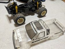 Tamiya 1/10 Nissan King Cab vintage RC racing truck great base for a restoration