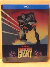 The Iron Giant - Limited Edition Blu-Ray Steelbook! Brand New!