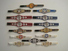 14 Custom Wrestling Figure Belts WWE CURRENT 2020 (ACTION FIGS NOT INCLUDED)