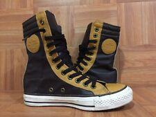 "Seltene 🔥 Converse Chuck Taylor All Star XX-Hi Mid 8"" Boot zweifarbig braun Leder 5"