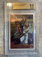 2003-04 Topps Chrome #115 Dwyane Wade RC Rookie Miami Heat BGS 9.5 GEM MINT