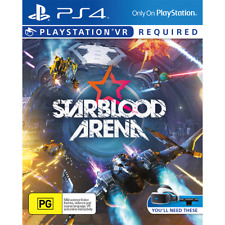 Starblood Arena Space Dogfight Game PS4 VR Sony Playstation 4 Virtual Reality