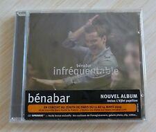 CD ALBUM INFREQUENTABLE BENABAR 12 TITRES NEUF SOUS CELLO