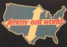 JIMMY EAT WORLD POSTKARTE # 1 POSTCARD