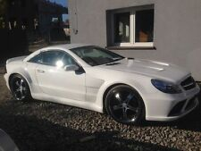 Mercedes-Benz SL R230 R 230 55 63 65 AMG Black-Series Look Bodykit Spoiler