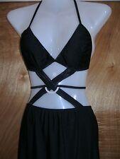 SEXY BLACK maxi DRESS, Negligee Club Dance wear
