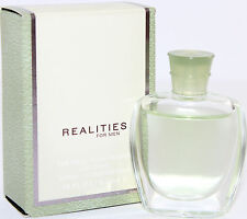 REALITIES FOR MEN 0.18 OZ EDT SPLASH MINI FOR MEN BY LIZ CLAIBORNE NEW IN A BOX