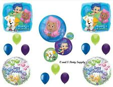 NEW BUBBLE GUPPIES XL BIRTHDAY PARTY BALLOONS Decorations Supplies Fish