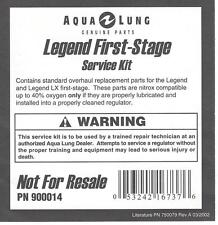 Aqua Lung Legend LX First Stage Service Kit