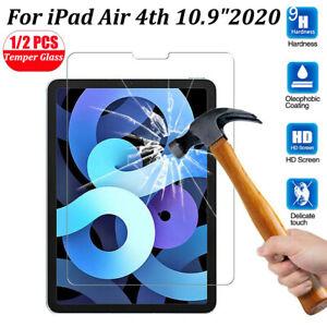 """Schutzglas Für iPad 10.2"""" Air 4th 10.9"""" 2020 Panzerfolie Displayschutz Hartglas"""