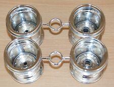 Tamiya 58365 Midnight Pumpkin Metallic/Unimog, 9335442/19335442 Wheels (4 Pcs.)