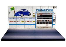 Diorama présentoir Volkswagen - Vee Dub Victor - 1/43ème - #43-2-C-B-003