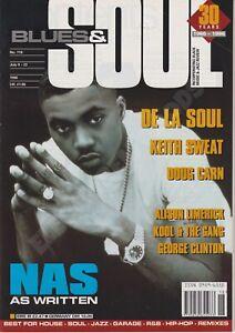 BLUES & SOUL MAGAZINE - NAS, DE LA SOUL, KEITH SWEAT, ALISON LIMERICK - JUL 96