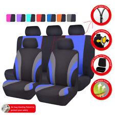 Universal Car Seat Covers Black Blue Interior Accessories Fit Truck SUV Honda VW