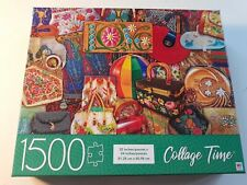 1500 piece jigsaw puzzle MB Collage Time - Vintage Handbags