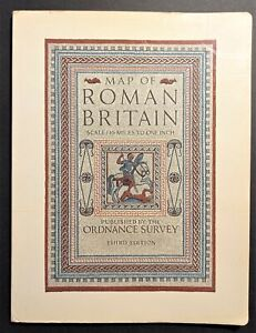 Map of Roman Britain: scale sixteen miles to one inche - ed. 1956