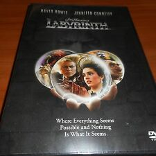 Labyrinth (DVD, Widescreen 1999) David Bowie Jennifer Connelly NEW
