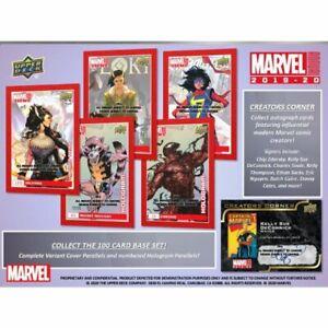 2019-20 Upper Deck Marvel Annual Splash-Ticular 3D You Pick Finish Your Set