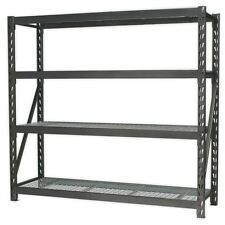 Heavy-Duty Racking Unit with 4 Mesh Shelves 800kg Capacity Per Level AP6572