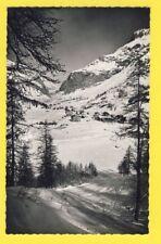 cpsm VAL d'ISERE Savoie La STATION vers 1950 Pente du SOLAISE Sport d'Hiver Ski