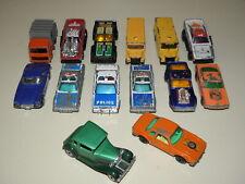 1980s Vtg Matchbox Lesney Truck/Cars Lot Of 14