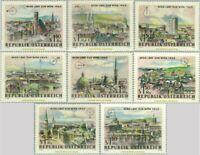 EBS Austria Österreich 1964 - WIPA - 360º Views of Vienna - ANK 1194-1201 MNH**