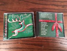 Lof Of 2 A Country Christmas  98 CD 1998 NEW SEALED And 96 Christmas Music CD
