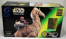 NIB Vintage 1997 Star Wars Power of the Force Ronto & Jawa Action Figure Set