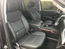 2015 2017 18 Gmc Yukon Katzkin Black Perforated Leather Seat Cover Kit 2016 2019