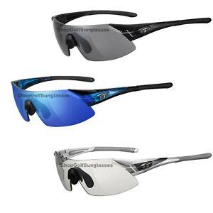 Tifosi PODIUM XC Matte Black Silver Gunmetal Clarion Blue CYCLING Sunglasses