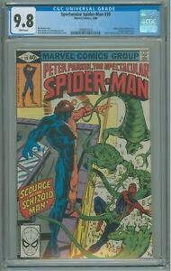 Spectacular Spider-Man # 39 CGC 9.8 NM/MT John Romita Jr. 1980