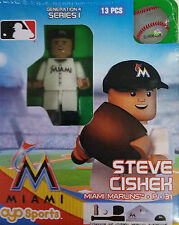 Steve Cishek OYO Miami Marlins MLB Mini Figure NEW G4