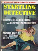 ORIGINAL Vintage March 1958 Startling Detective Magazine GGA